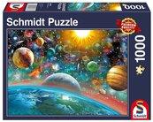 Puzzle PQ 1000 Przestrzeń kosmiczna G3