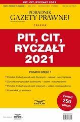 PIT, CIT, Ryczałt 2021