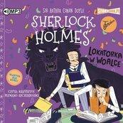 Sherlock Holmes T.9 Lokatorka w woalce audiobook