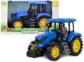 Mini farma traktor niebieski 33cm