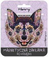 Zakładka magnetyczna. Mandala Pies
