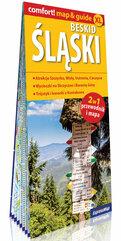 Beskid Śląski laminowany map&guide 2w1: przewodnik i mapa