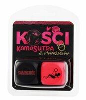 Kości Kamasutra dla nowożeńców (różowo-czarne)