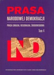 Prasa Narodowej Demokracji Tom 4