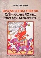Rosyjski poemat komiczny XVIII - początku XIX w.