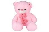 PROMO Maskotka Miś z kokardą różowy 1003333