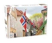 Puzzle Street in Bergen 1000