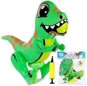 Pistolet na wodę dmuchany dinozaur Edu&Fun