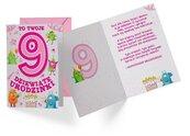 Karnet B6 PR-307 Urodziny 9