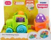 Toomies Traktor wywrotka 2w1 TOMY