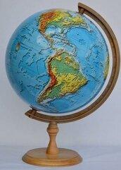 Globus fizyczny 3D 32 cm