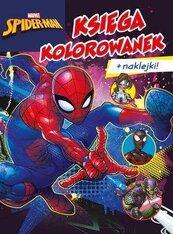Księga kolorowanek. Marvel Spider-Man