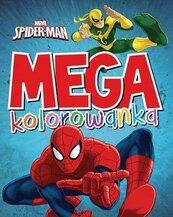 Mega kolorowanka. Marvel Spider-Man