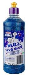 Klej brokatowy niebieski PVA 500ml TUBAN