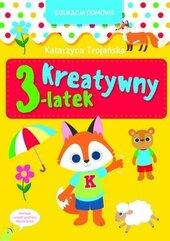 Edukacja domowa. Kreatywny 3-latek
