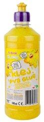 Klej brokatowy żółty PVA 500ml TUBAN