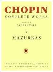 Chopin. Complete Works. X Mazurki