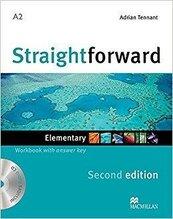 Straightforward 2nd ed. A2 Elementary WB with key