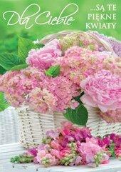 Karnet B6 3DV-012 Dla Ciebie kwiaty