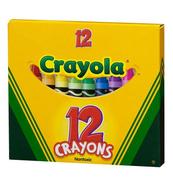 Kredki świecowe 12kol Crayola 0012