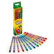 Kredki ołówkowe wykręcane 12 kolorów 7508 Crayola