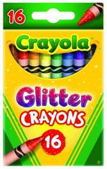Kredki brokatowe 16 kolorów 3716 Crayola