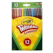 Kredki świecowe wykręcane 12 kolorów 8530 Crayola