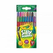 Kredki wykręcane SILLY SCENTS Mini 21szt. Crayola