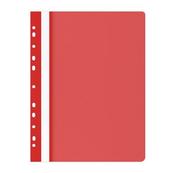 Skoroszyt OFFICE PRODUCTS PP A4 miękki 100/170mikr.wpinany, czerwony p25/cena za1szt.