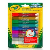 Klej brokatowy 9 kolorów 3527 Crayola