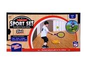 Zestaw sportowy 2w1 Tenis+piłka nożna