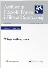 Archiwum Filozofii Prawa i Filozofii.. 2/2020 (23)