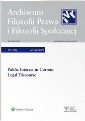 Archiwum Filozofii Prawa i Filozofii.. 3/2020 (24)