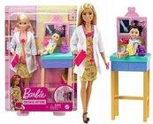 Barbie Kariera. Lalka Pediatra zestaw