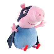 TY BEANIE BABIES PEPPA Świnka George Superhero 28cm