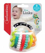 Infantino 206158 Łańcuch gryzaczków 8 elementów