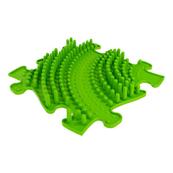 PROMO Mata ortopedyczna pojedyncza Twister wypustki twarde zielone MFK-001-2-1-02