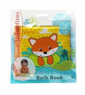 Infantino 305085 Miękka kąpielowa książeczka