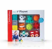 Infantino 315072 Zestaw pierwszych zabawek 11 elementów