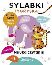 Sylabki Tygryska. Nauka czytania zeszyt 5
