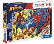 Puzzle 24 maxi Super Kolor Spider-Man