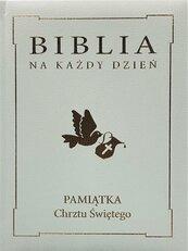Biblia na każdy dzień. Chrzest złoto