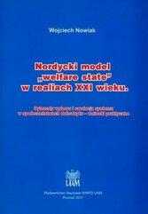 """Nordycki model """"welfare state"""" w realiach XXI w."""
