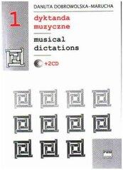 Dyktanda muzyczne z.1 + 2 CD PWM