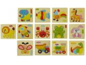 Drewniana układanka Zwierzęta domowe 1004009