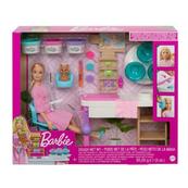 Barbie Relaks w salonie Spa Maseczka zestaw GJR84 MATTEL