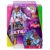 Barbie Lalka EXTRA MODA + akcesoria 4 GRN29 GRN27 MATTEL