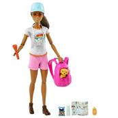 Barbie Lalka Turystka GRN66 GKH73 MATTEL