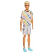 Barbie Lalka Fashionistas Stylowy Ken 174 GRB90 DWK44 MATTEL