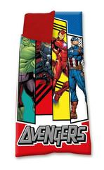 Śpiwór 68x138cm Avengers, 100% poliester MV15608 Kids Euroswan